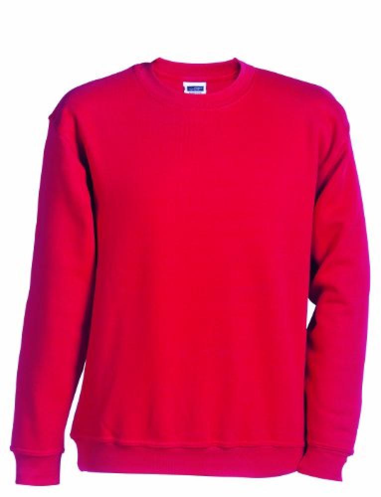 TG-Tallia-Produttore-XS-98-104-James-amp-Nicholson-Sweatshirt-Round-Heavy